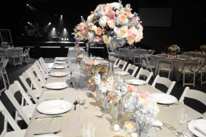 Wedding Reception, Table arrangements